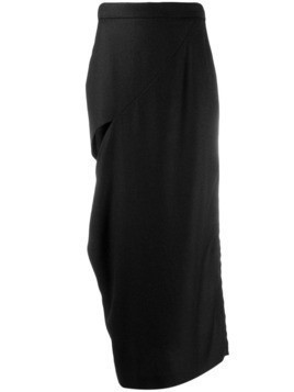 Litkovskaya cut out detail skirt - Black