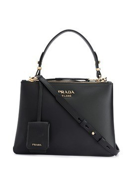 Prada double zip tote - Black