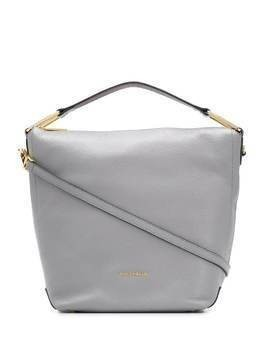 Coccinelle top-handle tote bag - Grey