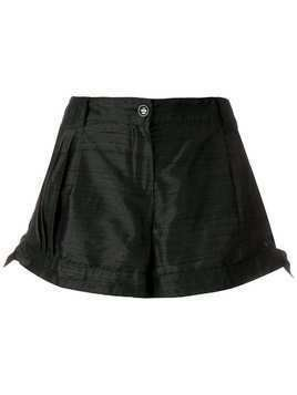 Giorgio Armani Pre-Owned tied sides shorts - Black