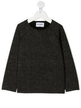 Dondup Kids plain basic T-shirt - Grey