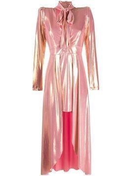 Aniye By metallic sheen asymmetric dress - PINK