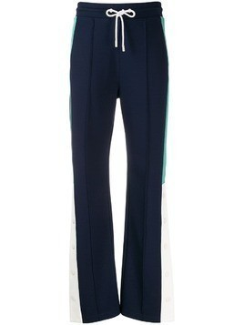 Essentiel Antwerp Tower side stripe track trousers - Blue