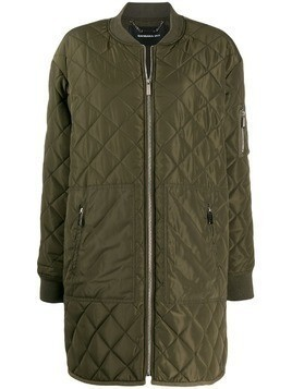 Barbara Bui quilted bomber jacket - Green