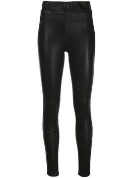L'Agence high-rise fitted leggings - Black
