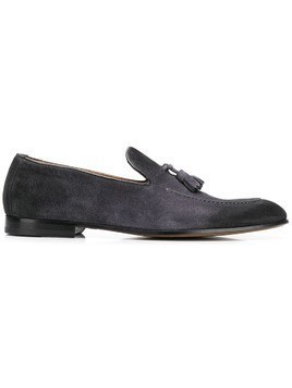 Doucal's tassel detail loafers - Blue