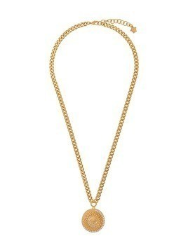 Versace Medusa pendant chain necklace - Gold