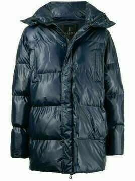 Rains quilted puffer jacket - Blue