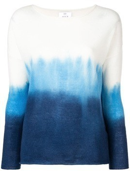 Allude gradient effect jumper - Blue