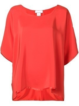 Jean Paul Knott loose fit blouse - Red