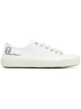 Maison Margiela Tabi low top trainers - White
