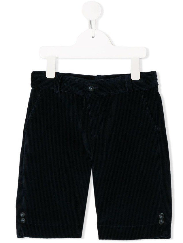 Siola corduroy tailored shorts - Blue