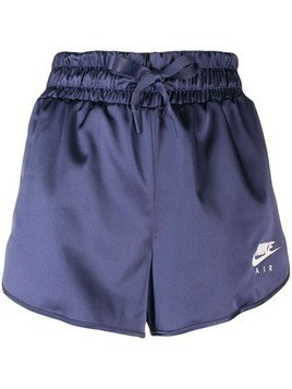 Nike elasticated track shorts - Purple