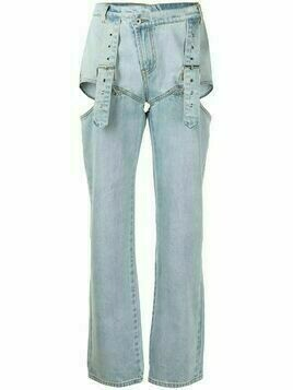 Ground Zero cut-out jeans - Blue