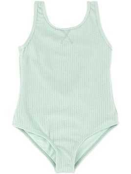 Duskii Girl Aya textured swimsuit - Green