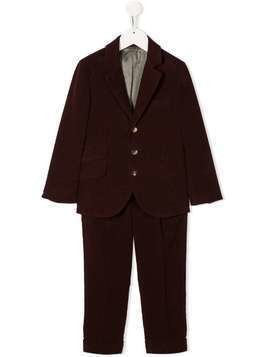 BRUNELLO CUCINELLI KIDS two-piece suit - Red