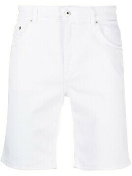 Dondup mid-rise denim shorts - White