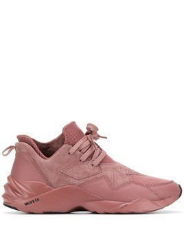 Arkk panelled sneakers - Purple