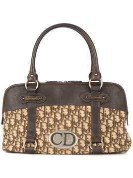Christian Dior Pre-Owned Trotter handbag - Brown