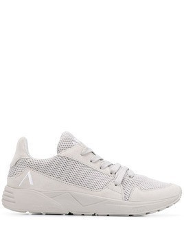 Arkk perforated lace-up sneakers - Grey