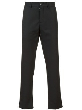 Maison Margiela slim fit trousers - Black