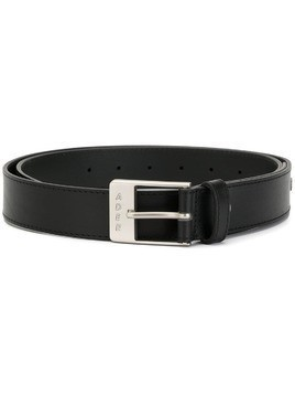 Ader Error logo buckle belt - Black