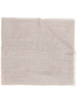 Fashion Clinic Timeless plain scarf - NEUTRALS