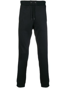 Versace Jeans side stripe track pants - Black