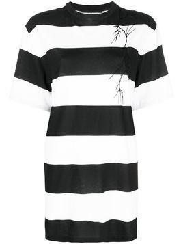 Haider Ackermann striped T-shirt - Black