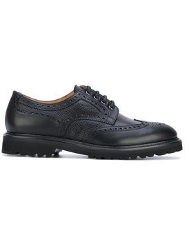 Aiezen classic lace-up brogues - Black