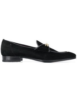 Lidfort chain trim loafers - Black