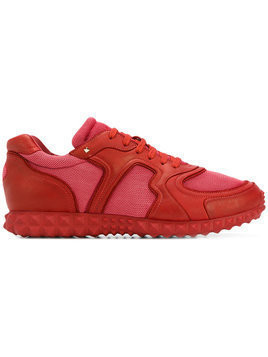 Valentino - Valentino Garavani Soul AM sneakers - Herren - Leather/Polyester/rubber - 40.5 - Red