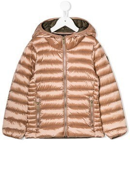 Ciesse Piumini Junior hooded down jacket - Neutrals