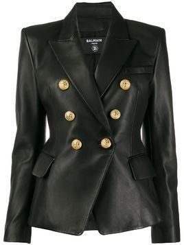 Balmain double-breasted blazer - Black