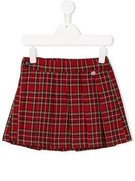 Harmont & Blaine Junior tartan print skirt - Red