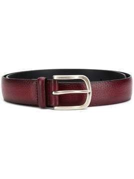 Orciani gradient-effect buckle belt - Red