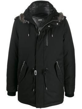 Mackage Seth-DX hooded parka coat - Black