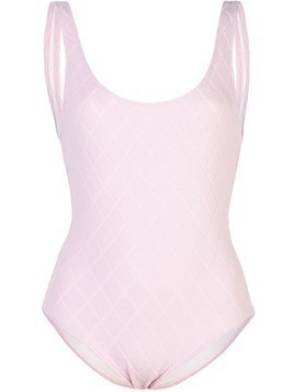 Solid & Striped The Anne-Marie quilted swimsuit - Pink