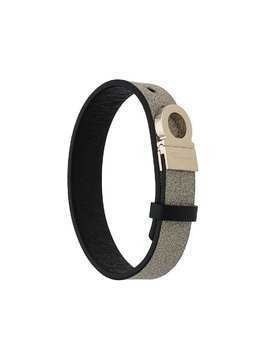 Salvatore Ferragamo Gancini buckle bracelet - Brown