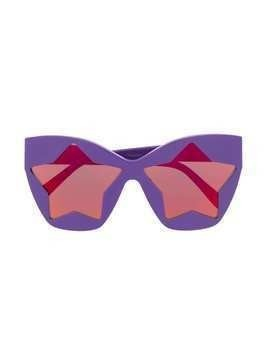 Stella McCartney Kids star-lens sunglasses - PURPLE