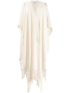Caravana oversized draped cardigan - Neutrals