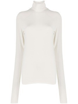 Haider Ackermann Delta turtleneck jumper - NEUTRALS