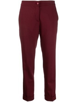 Etro classic formal trousers - Red