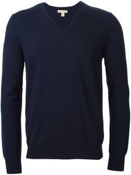 Burberry V-neck jumper - Blue