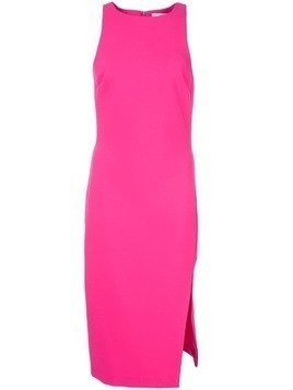 Likely side slit midi dress - Pink