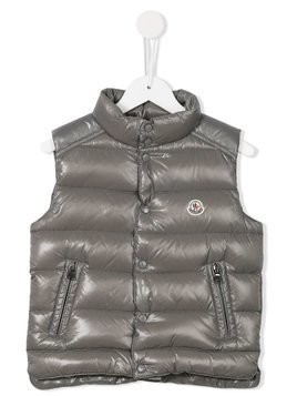 Moncler Kids 'Tib' padded gilet - Grey