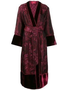 F.R.S For Restless Sleepers fringed robe - Red