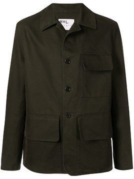 Margaret Howell short-length hunting Jacket - Green