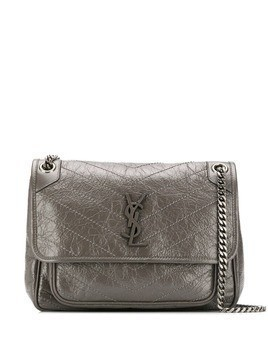 Saint Laurent medium Niki shoulder bag - Grey