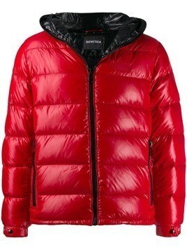 Duvetica hooded padded jacket - Red